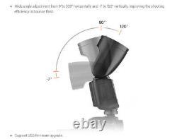 Us Stock Godox V1-s 2.4g Ttl Hss Tête Ronde Caméra Flash Pour Sony Kit Speedlight