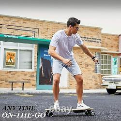 VIVI H2b Electric Skateboard Avec Télécommande Sans Fil Longboard Double Motor