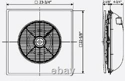 Ventilateur De Tuile De Plafond Avec Télécommande Sans Fil 3 Vitesse Sa 398
