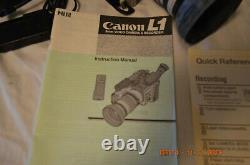 Vintage Canon L1 Hi8 Caméra Vidéo