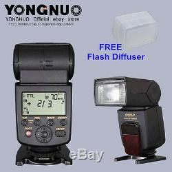 Vitesse Sans Fil Haute 1 / 8000s Synchro Flash Yn-568 Pour Nikon D7100 D7200 D5300 D5200