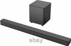 Vizio V-series 2.1 Channel Sound Bar System Avec Wireless Subwoofer Black