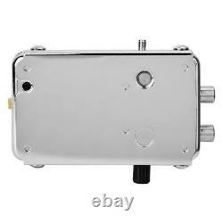 Wireless Home Smart Door Lock Télécommande En Acier Inoxydable Anti-vol Argent