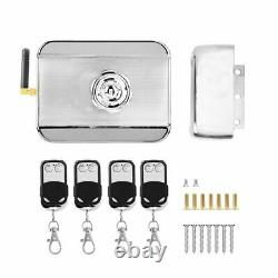 Wireless Remote Control Electric Magnetic Smart Door Lock Access Control System
