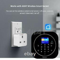 Wireless Security Gsm Wifi Smart Home Office Intrus Burglar Fire Alarm System
