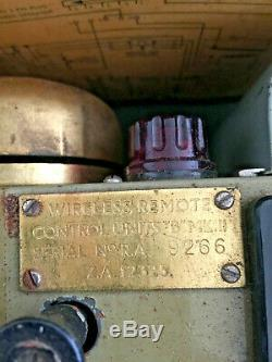 Ww2 Sans Fil Unités De Contrôle À Distance B Mk II Jeu Sans Fil N ° 19 Ws19