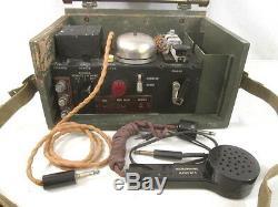 Wwii Ère Unité De Contrôle À Distance Sans Fil Armée Canadienne No. 1 Commando Set Radio