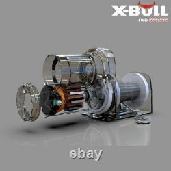 X-bull 12v 3000lbs Treuil Électrique Câble D'acier Atv Utv Télécommande Sans Fil