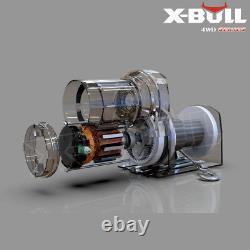 X-bull 3000lbs 12v Treuil Électrique Câble D'acier Atv Utv Télécommande Sans Fil