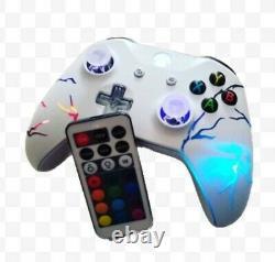 Xbox One Arcade Fire Techfire Contrôleur Sans Fil Led +remotexbox Un Selite