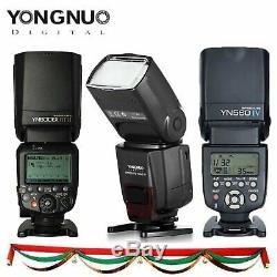 Yn560iv Yn560iii Yn600ex-rt II Yongnuo Pour La Sélection / Canon Nikon