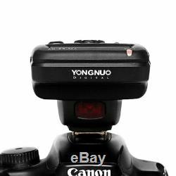 Yn600ex-rt II Sans Fil Speedlite Ttl Slave Master Pour Canon + Yn-e3-rt II