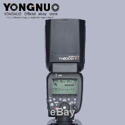 Yn600ex-rt Yongnuo Speedlite Hss 1 / 8000s Pour Canon 600ex-rt, Rt-e3
