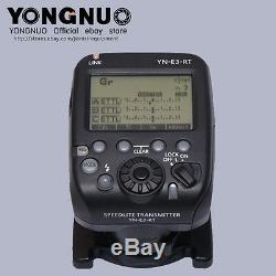 Yongnuo 2pcs Yn600ex-rt II Flash + Yne3-rt Contrôleur Flash Pour Canon