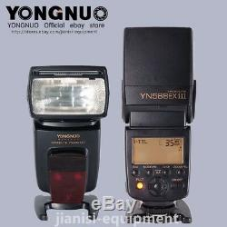 Yongnuo Sans Fil Ttl Hss Speedlite Yn568ex III Pour Nikon Jusqu'à 1 / 8000s