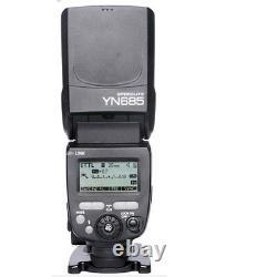 Yongnuo Ttl Yn685 Unité Flash Speedlite 622c Build-in Radio Hss 1/8000 Pour Canon