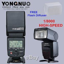 Yongnuo Yn-568ex II Ttl Hss 1/8000 Speedlite Pour Diffuseur Canon +