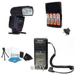 Yongnuo Yn560 IV Yn560iv Flash Sans Fil + Sf18 Flash Batterie Kit 4aa Rechar