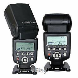 Yongnuo Yn560-tx Flash Sans Fil Contrôleur Pour Canon + 3 X Yn-560iii Flash