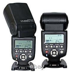 Yongnuo Yn560-tx LCD Wireless Flash Controller + 2pcs Yn560 III Flash Pour Nikon