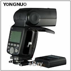Yongnuo Yn686ex-rt Hss 1 / 8000s Sans Fil Speedlite Canon + Batterie