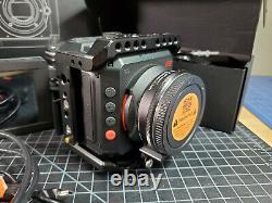 Z Cam E2 4k Cine Camera + Moniteur Portkeys + Cage + Metabones XL + Lensbaby